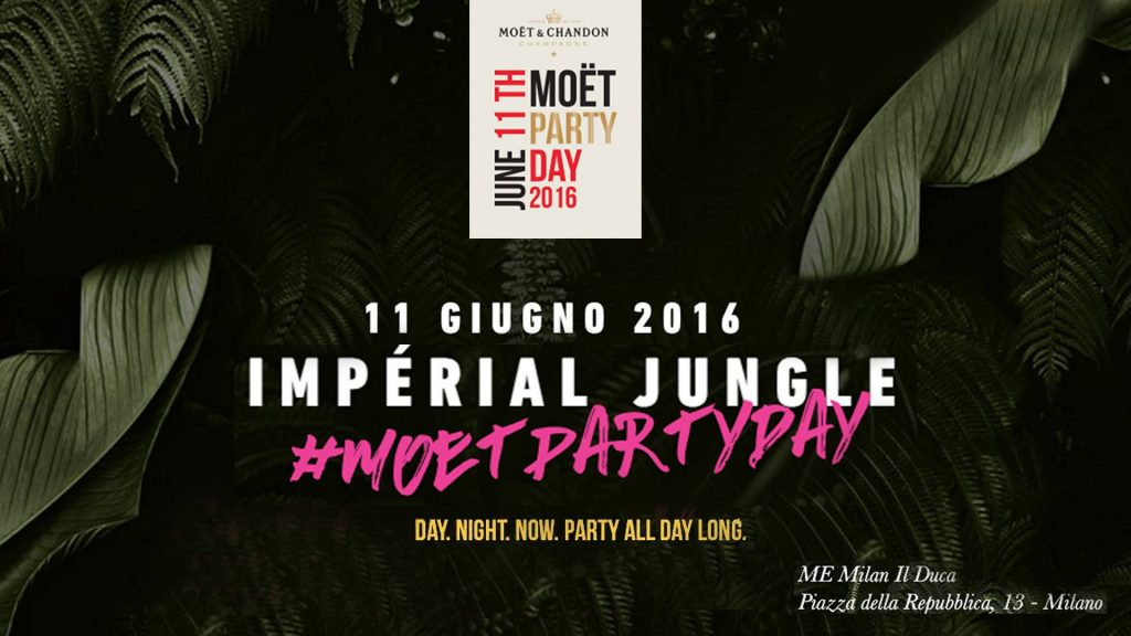 Moët Party Day- Radio Rooftop Me Milan Il Duca