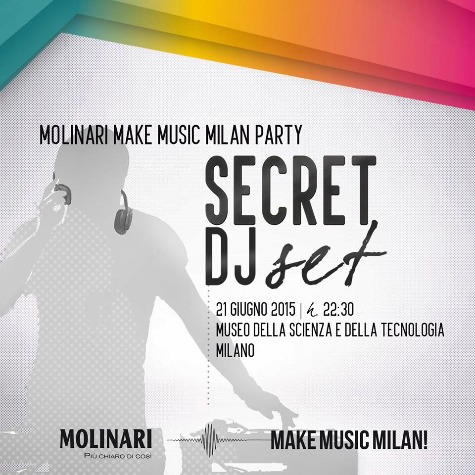 After Show Make Music Milan @ Museum of Science and Technology