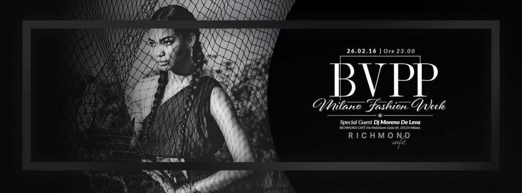26.02 Milan Woman's Fashion Week – Black Vogue Private Party