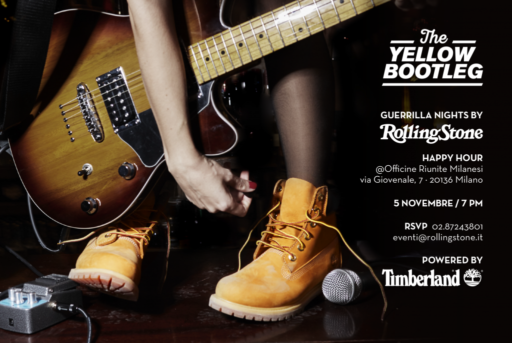 05.11 THE YELLOW BOOTLEG Powered by TIMBERLAND