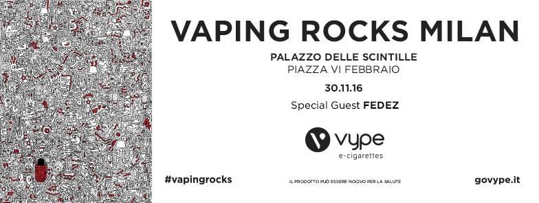 30.11 Vaping Rocks Milan