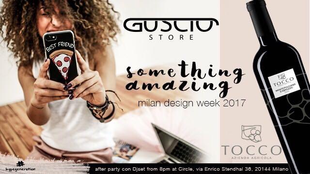 6.04 Mdw17 Guscio Store & Tocco Vini Design Party