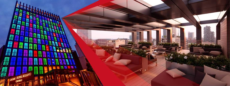 09.06 Red Sunset Party @rooftop LaGare