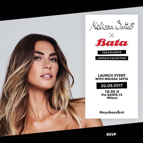MFW2017 – Bata Capsule Collection starring Melissa Satta