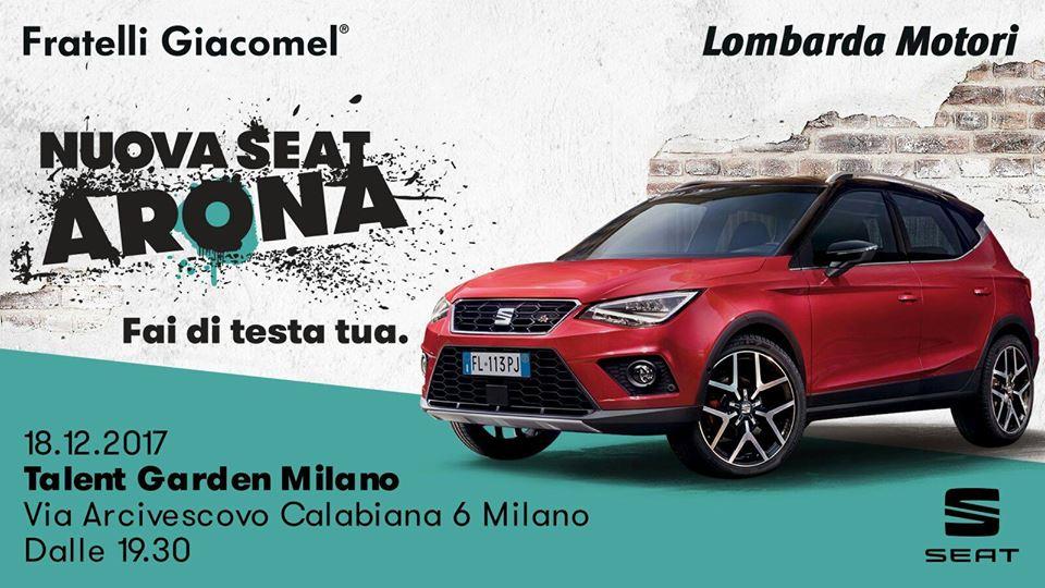 18.12.17  Nuova Seat Arona / Special Event