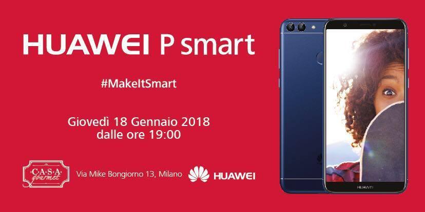 18.01.18 Evento Huawei #MakeItSmart