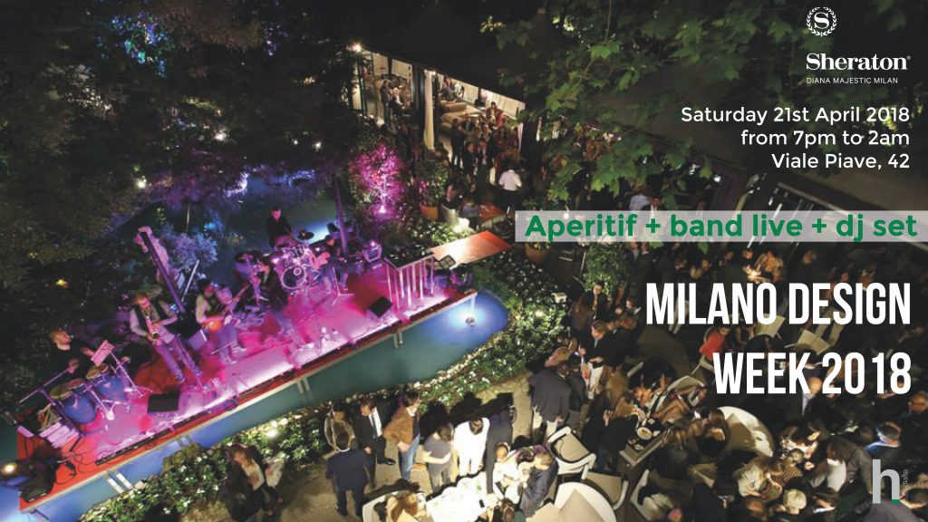 21.04.18 MDW18 Cocktail Party @ Hotel Sheraton Diana Majestic