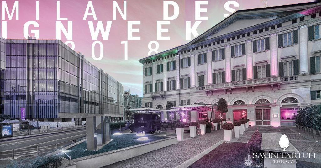 MDW18 Opening Brera Design District / Cocktail Party e Tartufo