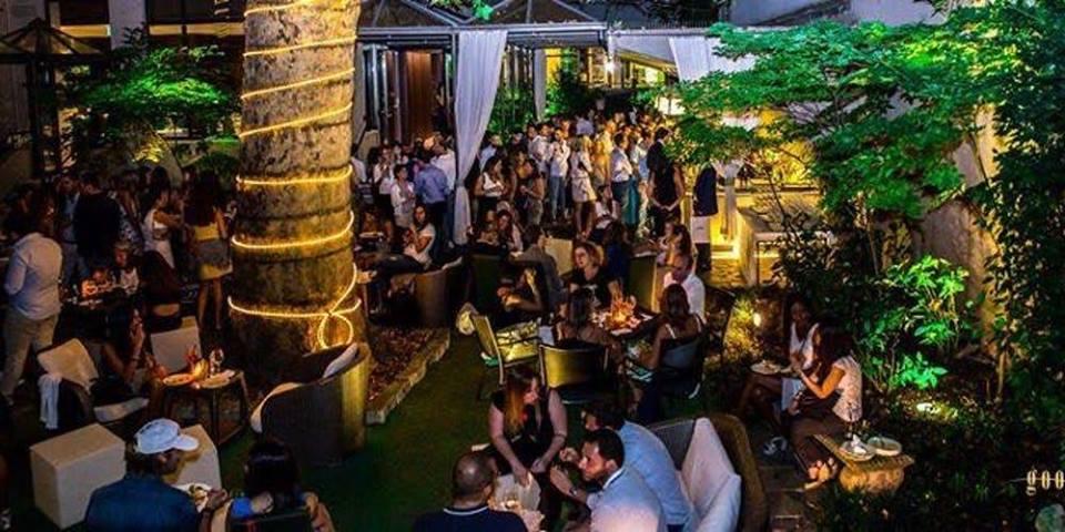 10.05.18 Milan FOOD Week Garden Cocktail Party @ Hotel Manin