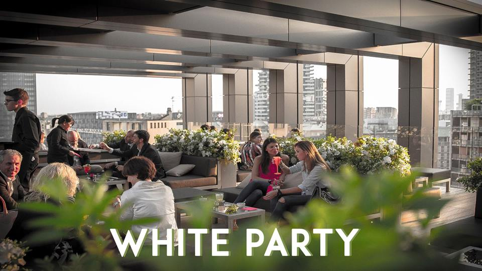 22.06.18 WHITE PARTY | Rooftop La Gare Hotel Milano