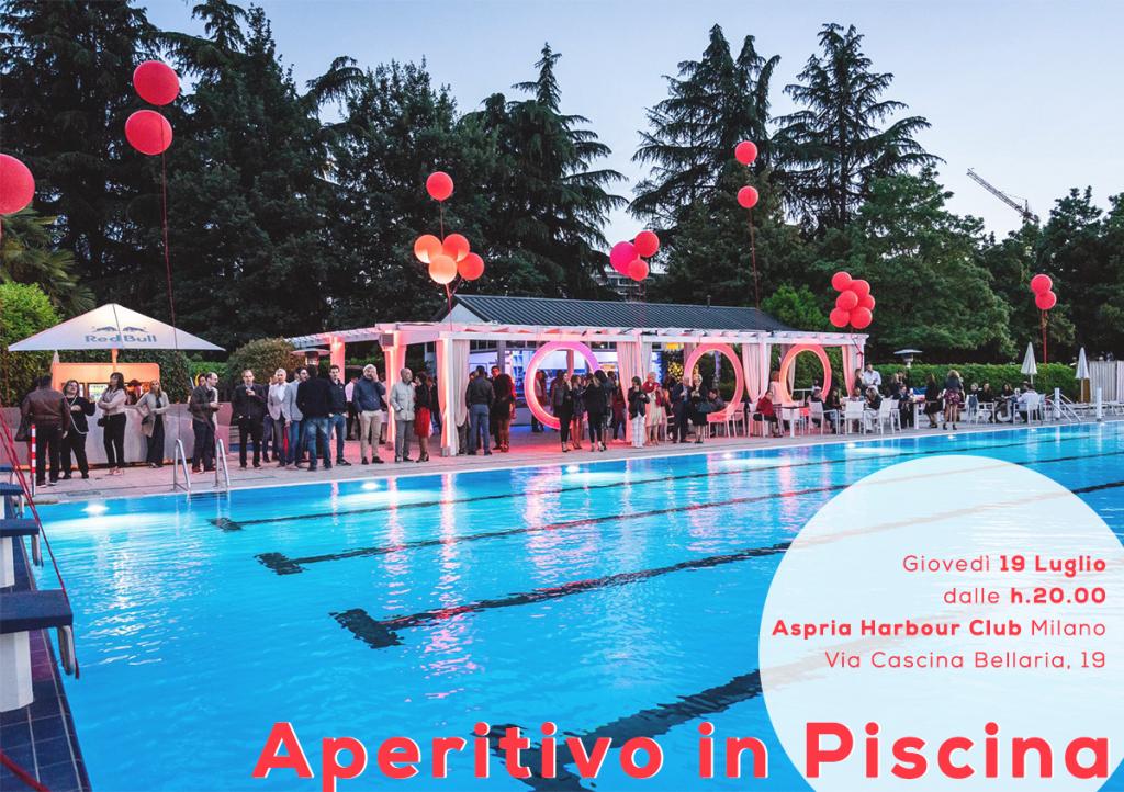 19.07 | Aperitivo in Piscina | Harbour Club