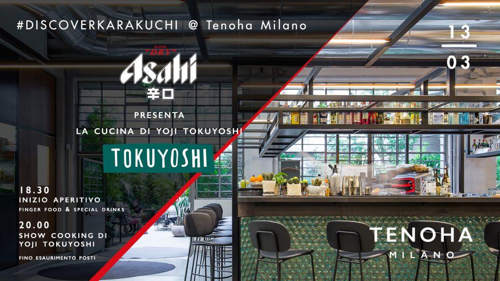 13.03 – Asahi Super Dry // #DISCOVERKARAKUCHI @ TENOHA MILANO