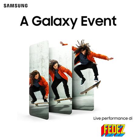 "Samsung ""A Galaxy Event"" | Special guest: FEDEZ"