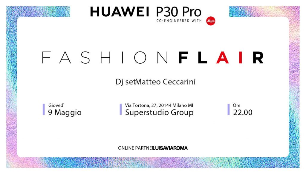 09.05 | Huawei P30 Pro FASHION FLAIR