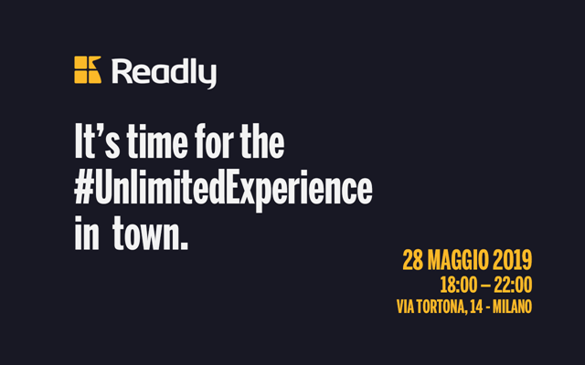 28.05.19 – READLY LAUNCH PARTY