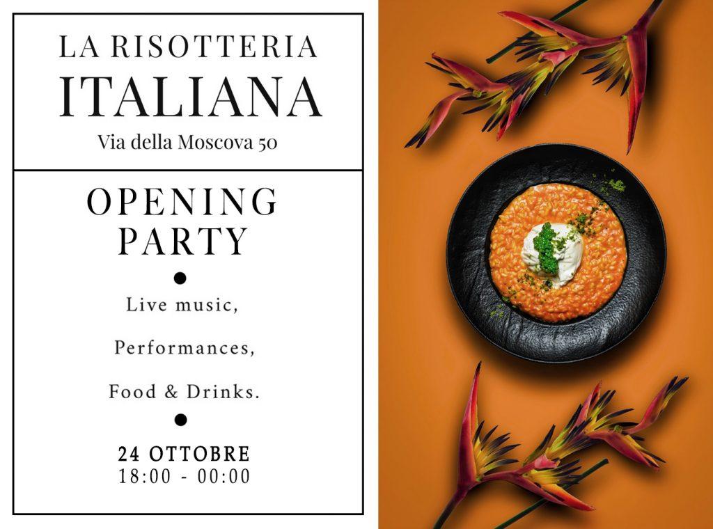 24.10_La risotteria Italiana_Opening party
