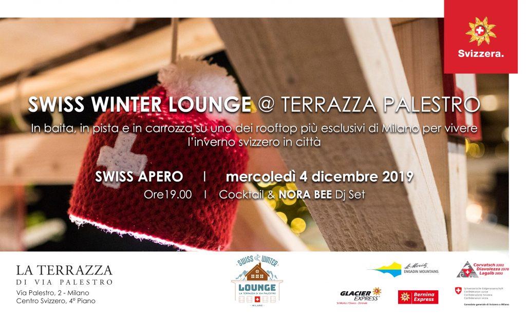 4.12 | SWISS APERO / Swiss Winter Lounge @ Terrazza Palestro